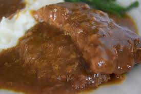 crock pot country steak with gravy soulfully made