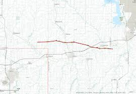 Map Topeka Ks Wednesday May 25th 2016 Long Track Tornado Hits North Central