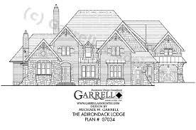 lodge house plans adirondack lodge house plan house plans by garrell associates inc