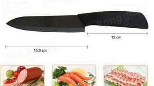 black blade ceramic knife set chef u0027s kitchen knives 4 size youtube
