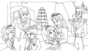 84 coloring pages disney sofia clover and princess sofia