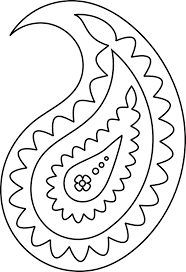 5 best images of printable paisley stencil designs free