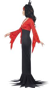Evil Princess Halloween Costume Long Vampire Halloween Costume Evil Vampire Queen Costume