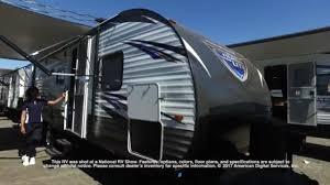 salem travel trailers floor plans forest river salem cruise lite t263bhxl youtube