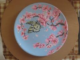 butterfly platter butterfly ceramic plate by eleestel on deviantart