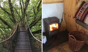 best treehouse holiday in the uk magical four bed house hidden in