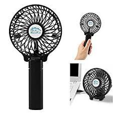 ventilateur de bureau glamouric mini ventilateur à la silencieux portable et