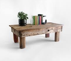 small distressed wood table inviting home design