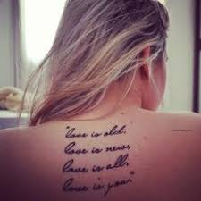 beatles lyrics tattoos beatles lyrics tattoos beatles lyrics