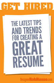 Tips For A Great Resumes 178 Best Resumes U0026 Self Promotions Images On Pinterest Interview