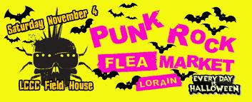party rock halloween 2017 punk rockin u0027 pre party punk rock flea market lorain