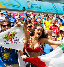 best fans in the world fifa world cup 2014 the good the bad and the ugly rediff sports
