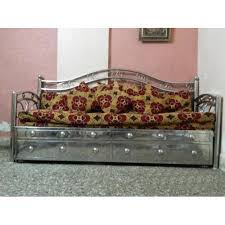 Steel Beds And Sofa Steel Sofa Cumbed And Sofa Set Manufacturer - Steel sofa designs