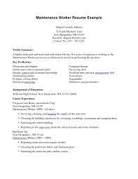 resume exles housekeeping exles of housekeeping resumes home cleaning resume sle