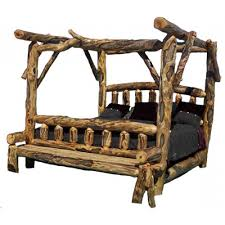 beds archives rustic log reclaimed industrial