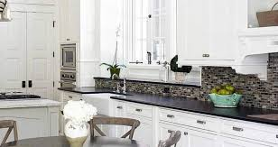 black granite countertops with white cabinets white cabinets and kitchens black granite countertops kitchens