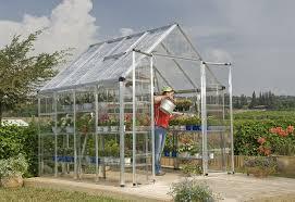 Greenhouse Palram Palram Snap U0026 Grow 8 U2032 Series Hobby Greenhouse U2013 8 X 8 X 9 Silver