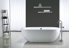 ove decors serenity 71 inch freestanding acrylic bathtub glossy