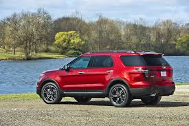 Ford Explorer Blacked Out - high performance suv 2013 ford explorer sport new on wheels
