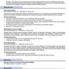 100 sample sales representative resume cover letter