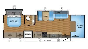 Jayco Seneca Floor Plans Jayco Greyhawk 2017 29mv Fp Cropped Png