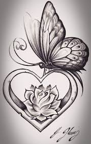tattoos pictures of butterflies and flowers best 25 flower and