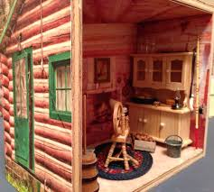 Dollhouse Decorating by Doll House Plans Cabin Homepeek