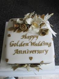 golden wedding cakes 8in square golden wedding 55 00 classic cakes