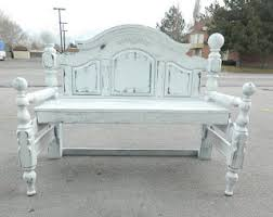 Bench Made From Bed Headboard 92 Best Upcycle Headboard Footboards Images On Pinterest