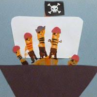 pirates preschool and kindergarten activities crafts and games