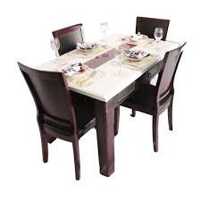 dining table set 4 seater dinning table set 4 seater marble top wooden dining table set
