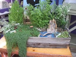 miniature fairy garden ideas christmas lights decoration