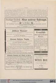 K Hen Berlin Kunstchronik Wochenschrift Für Kunst Und Kunstgewerbe N F 9 1898