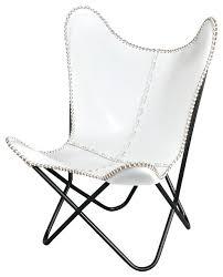 white leather accent chair u2013 naohiga