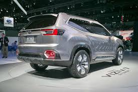 subaru suv concept interior subaru viziv 7 suv concept first look review