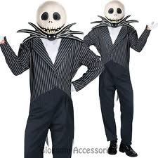 Jack Pumpkin King Halloween Costume Men U0027s Jack Skellington Costumes Ebay
