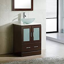 white bathroom vanity cabinet 24 bathroom vanity cabinet white tech stone quartz top glass vessel