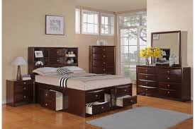 brown leather headboard queen bedroom bedroom with brown stained wood queen size bed with