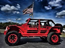 starwood motors jeep blue 2016 jeep wrangler el diablo turbo rubicon 38 u201cs 440hp autos