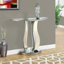 half moon accent table ebay