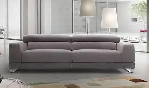 canapé design 2 places tissu personnalisable relax électrique