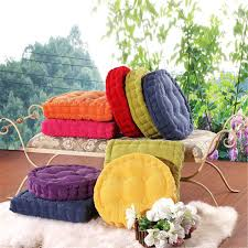 soft round thickened fiber seat cushion chunky home sofa office