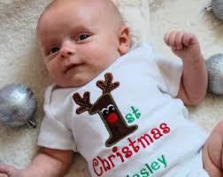 my christmas baby girl personalized baby boy 1st christmas baby boy