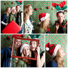 free santa selfie booth office xmas party