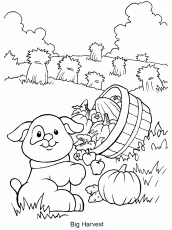 boy farmer colouring pages coloring