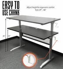 Long Computer Desks by Best 3 Standing Desks For Office In 2017 How To Choose The Best