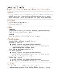 job resume layout hitecauto us