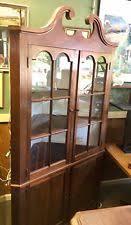 Corner Hutch Cabinet Oak Antique Corner Cabinets Ebay