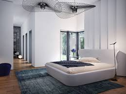 Modern Bed Designs by Trendy Home With Super Unique Staircase
