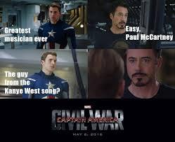 Civil War Meme - 15 civil war memes that will bring the house down quirkybyte